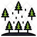 Forest Tree Plant Icon