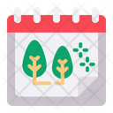 Forest Date Schedule Icon