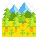 Forest Tree Landscape Icon