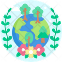 Forest Trees Nature Icon