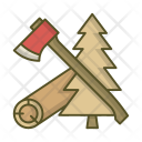 Forest Axe Wood Icon