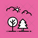 Forest Nature Park Icon