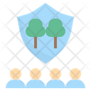 Forest Community Guard Icon