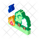 Forest Fire Lumberjack Icon