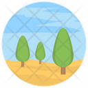 Forest Landscape Icon
