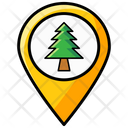 Forest Location Icon