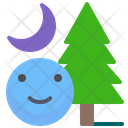 Forest Night Forest Night Icon