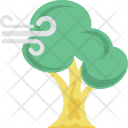 Forest Wind Tree Icon