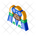 Forester Looking Binoculars Icon