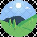 Forestland Environment Plantation Icon