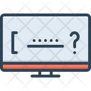 Forget Password System Icon