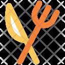 Fork Knife Utensil Icon