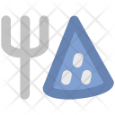 Fork And Pizza Icon