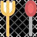 Fork Spoon Utensil Icon