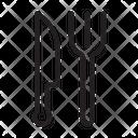 Fork Utensils Knife Icon