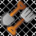 Fork Shovel Spring Icon