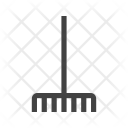 Fork Picking Leaves Icon