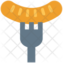 Fork Bratwurst Pork Icon