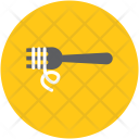 Fork Noodles Vermicelli Icon