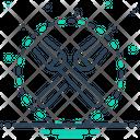 Fork Object Crockery Icon