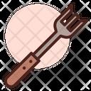 Fork Dinner Spoon Kitchen Utensil Icon