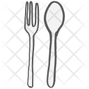Fork Spoon Eat Icon