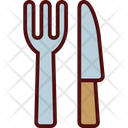 Clutery Fork Knife Icon