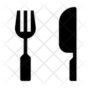 Fork And Knife Knife Kitchen Icon