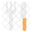 Tableware Fork And Knife Fork With Knife Icon