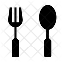 Fork And Spoon Spoon Food Icon