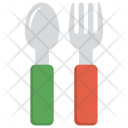 Fork Spoon Kids Icon
