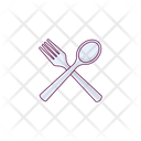 Fork Spoon Hotel Icon
