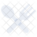 Fork And Spoon Cutlery Tableware Icon