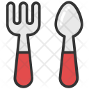 Fork Spoon Foodstuff Icon