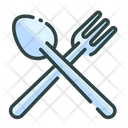 Fork And Spoons Flatware Restaurant Icon