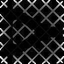 Fork arrow Icon