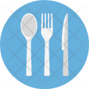 Fork Knife And Icon