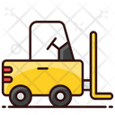 Fork Lift Delivery Lifter Forklift Truck Icon