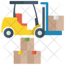 Fork Lift Truck Icon