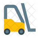 Forklift Fork Lift Icon