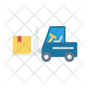 Forklift Crane Lifter Icon