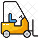 Delivery Lifter Fork Lift Forklift Truck Icon