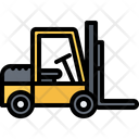 Forklift Box Delivery Icon