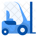 Forklift Cargo Manufacturing Icon
