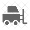 Forklift Cargo Logistic Icon