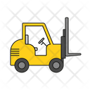 Forklift Lifting Vehicle Transport Vehicle Icon