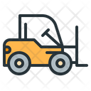 Forklift Heavy Machinery Icon