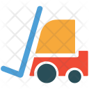 Delivery Forklift Lifter Icon