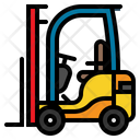 Forklift Loader Shipping Icon
