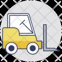 Forklift Truck Cherry Icon